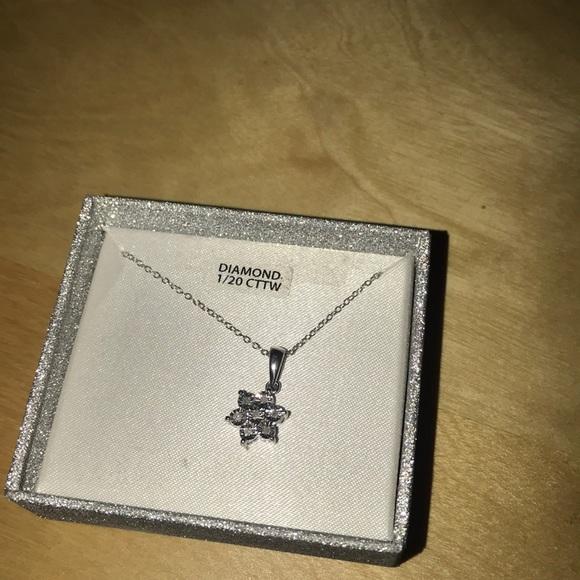 Macy's Jewelry - Macys Diamond Necklace 1/20 CTTW